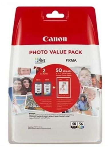 Canon Canon Pg-46Cl-56 Mürekkep Kartuş Siyah